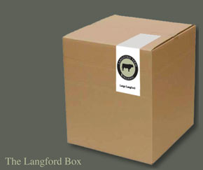 Langford Organic Beef - The Langford Box ready for delivery